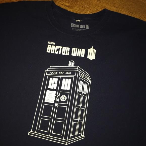 Dr who tardis blue 4X 4XXXX t-shirt bbc tee men s.  M 5b637ecfc2e88ebb0aa15d0f f883ef450